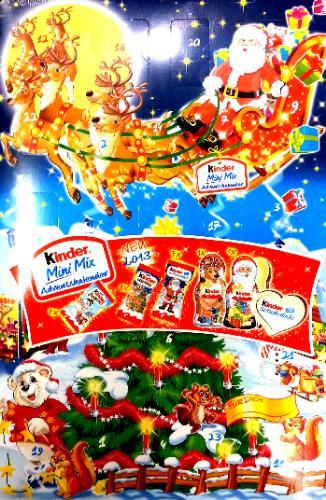 Kinder Weihnachtskalender.Advent Kalendari Kinder Mini Mix Adventskalender 152g Weihnachtskalender 39 41eur 1kg