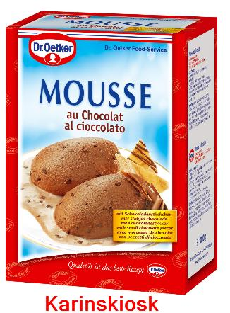 dr oetker original mousse au chocolat 1kg 15 97eur 1kg ebay. Black Bedroom Furniture Sets. Home Design Ideas